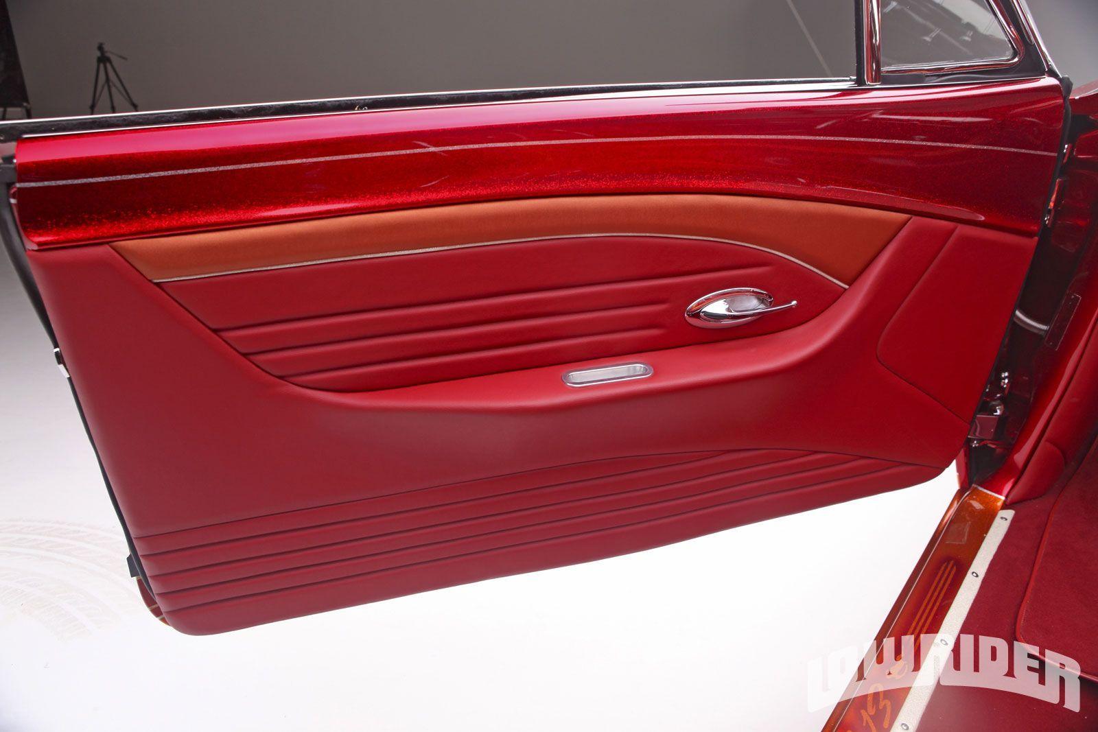 1963 Chevrolet Impala Impala Interior Door Panel Camaro Interior Custom Car Interior Custom Consoles