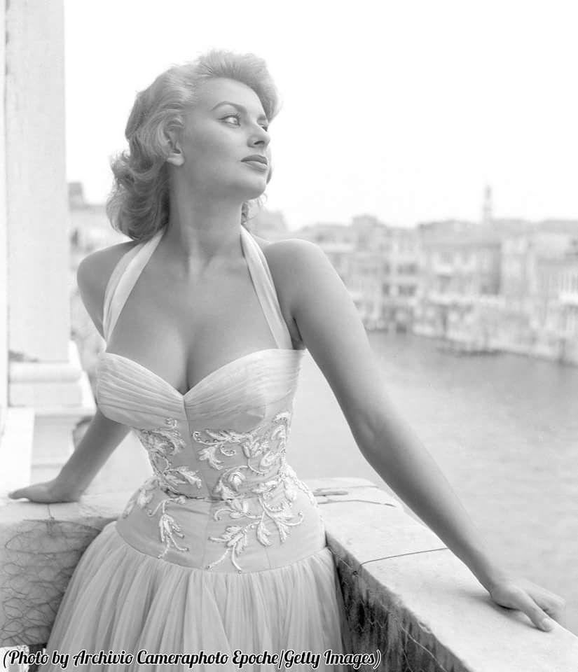 Софи Лорен, Венеция, 1955.