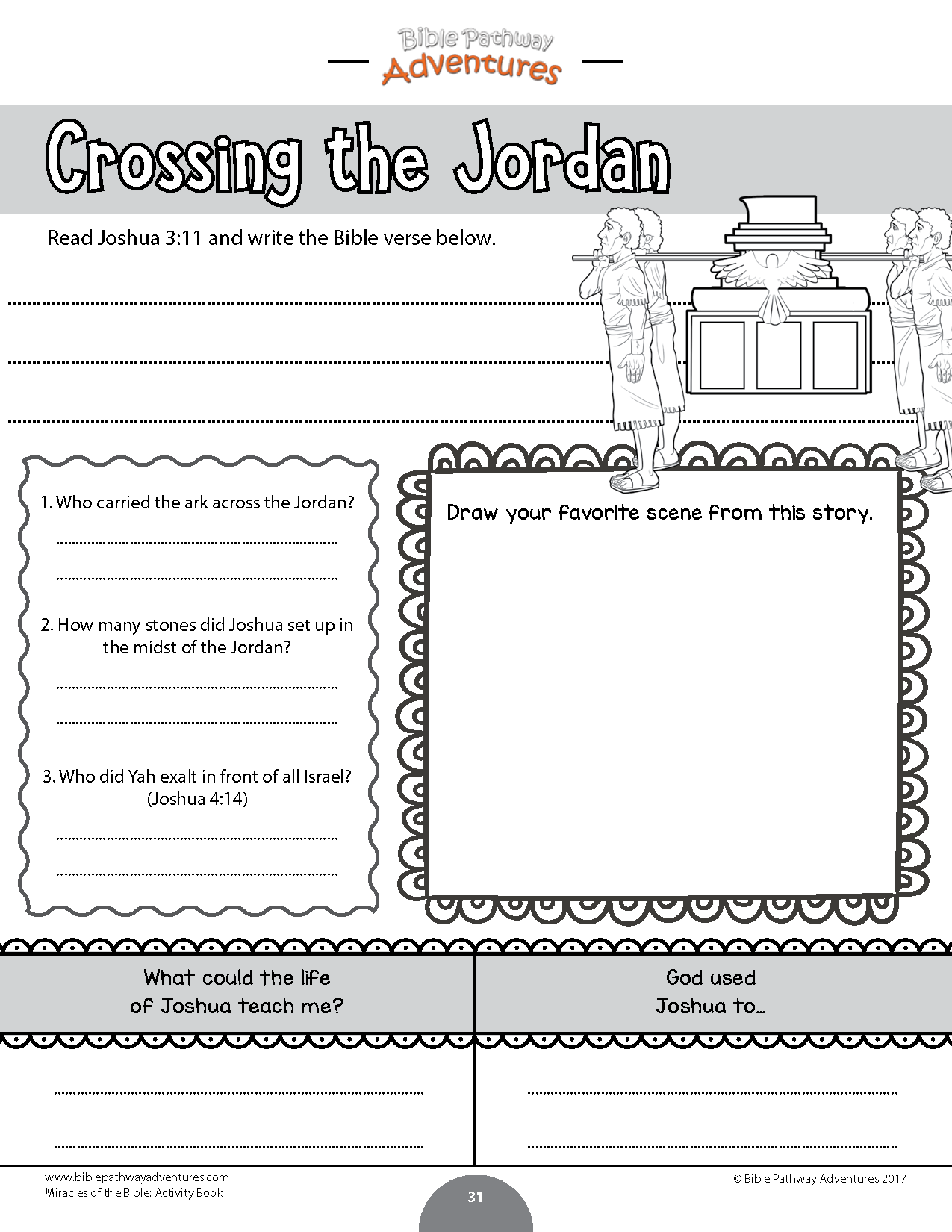 Miracles Of The Bible Activity Book Bible Activities Book Activities Bible Homeschool [ 1650 x 1275 Pixel ]