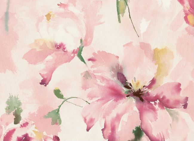 Interior Place - Light Pink AQ50001 Floral Wallpaper, 40.23 CAD (http://www.interiorplace.com/light-pink-aq50001-floral-wallpaper/)