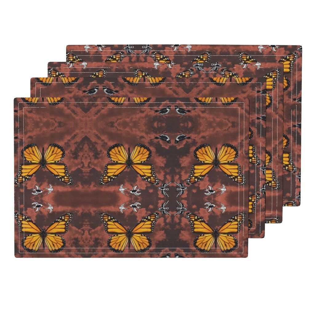 sierras butterfiy Placemats by pamelachi | Roostery Home Decor