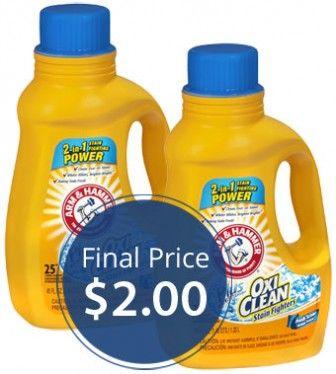 Arm Hammer Liquid Detergent Only 2 00 At Walgreens Liquid