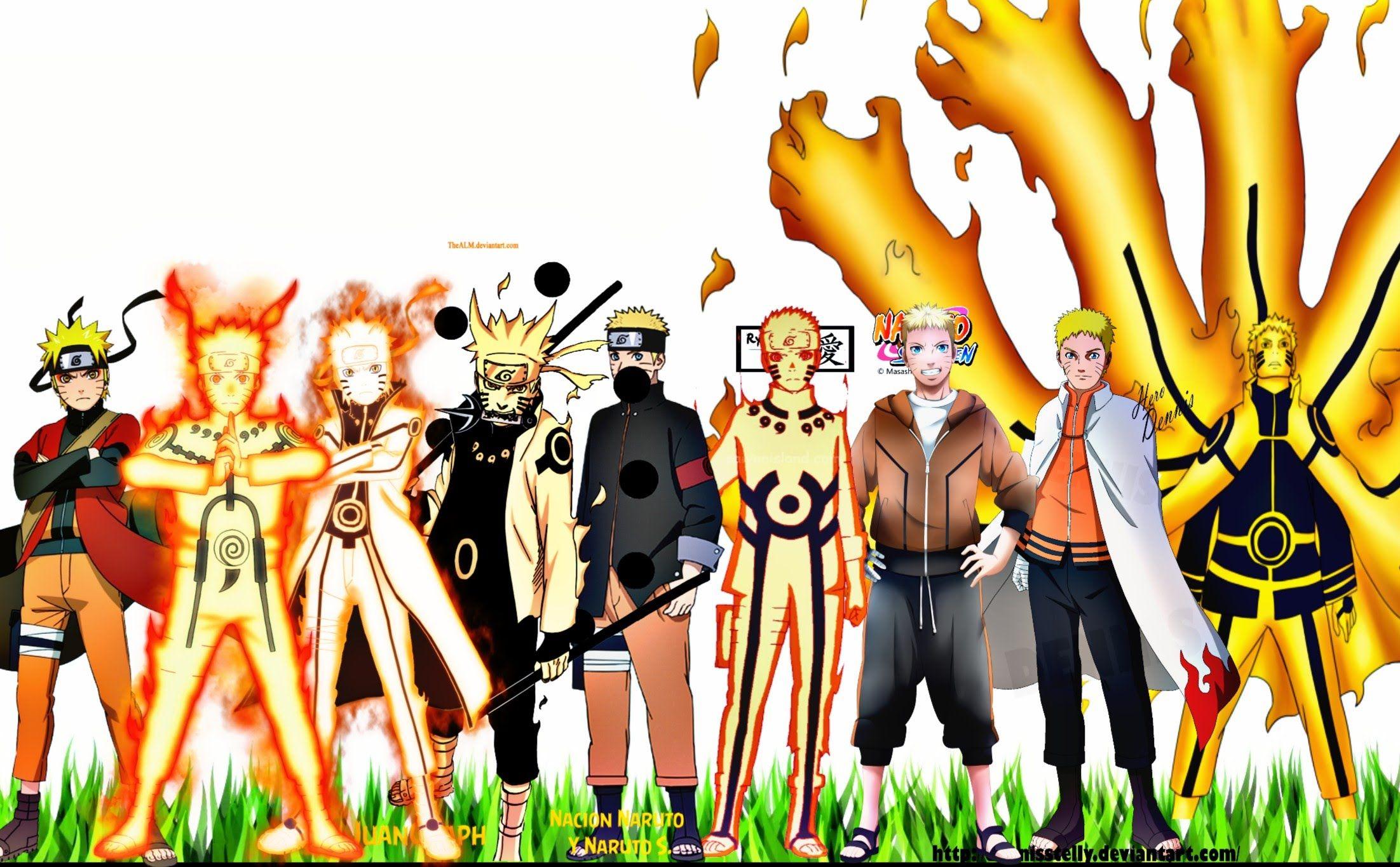 Naruto All Characters Evolution Naruto Naruto Shippuden Naruto