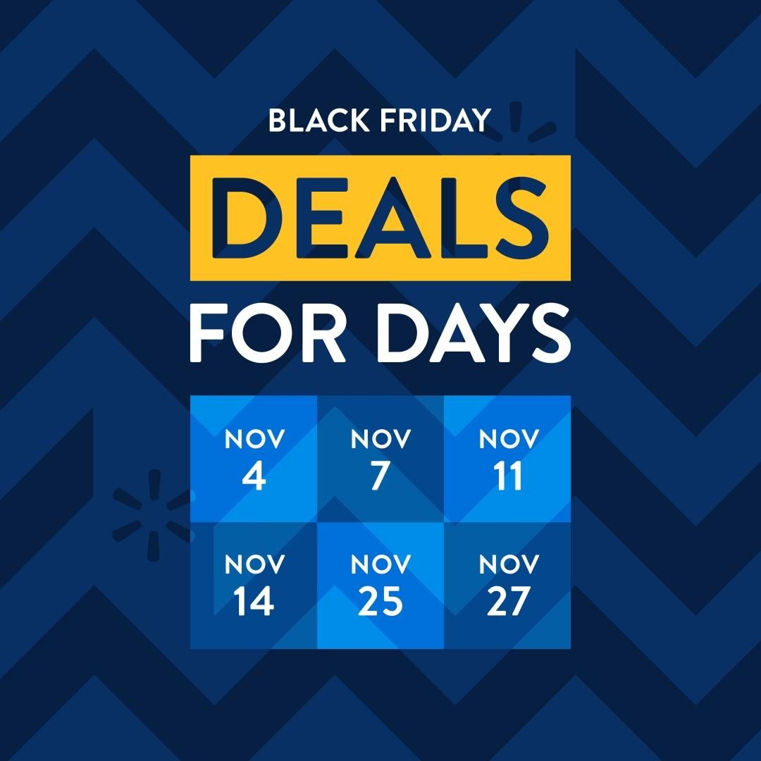Check out the new Black Friday deals & get the first look at the easier ways to shop deals at Walmart. 