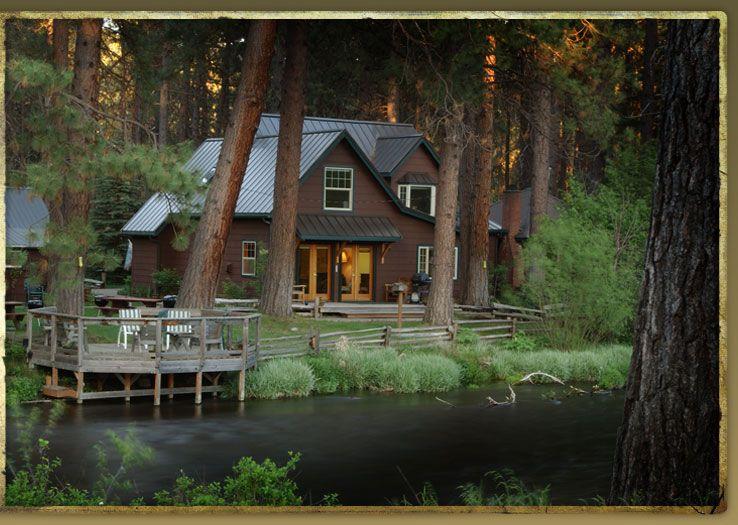 Metolius River Lodges  Oregon