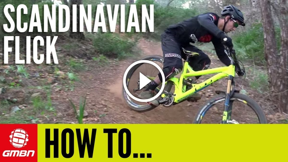 Watch How To Do A Scandinavian Flick On A Mountain Bike Singletracks Mountain Bike News Mountain Biking Bike News Canyon Bike