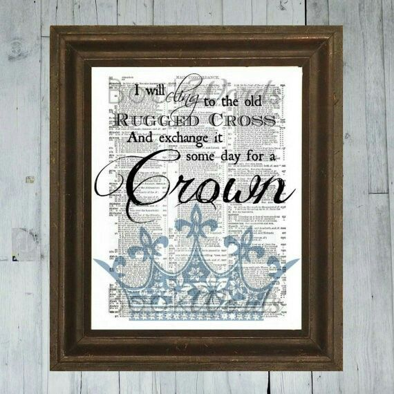 Exchange It Someday For A Crown Journaling Hymn