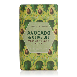 Avocado Amp Olive Oil Triple Milled Soap Crabtree Bath