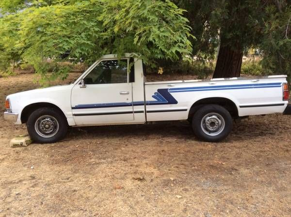 1984 Nissan pickup with low miles 1984 Nissan long bed ...