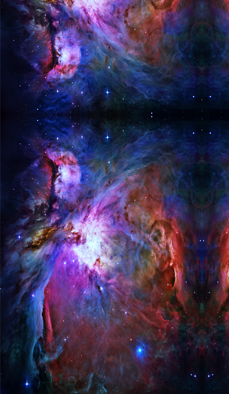 Orion nebula hubble 2006 colours edited fabric i give for Nebula material