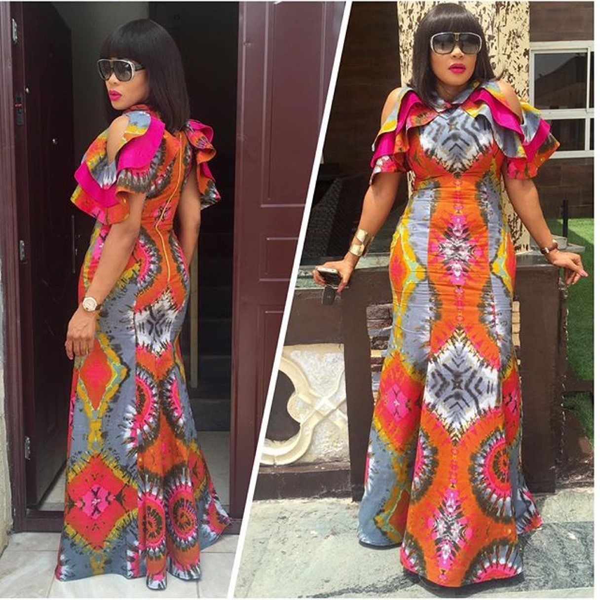 African print dresses for weddings  Pin by Yewande on Things to sew  Pinterest  Ankara Africans and