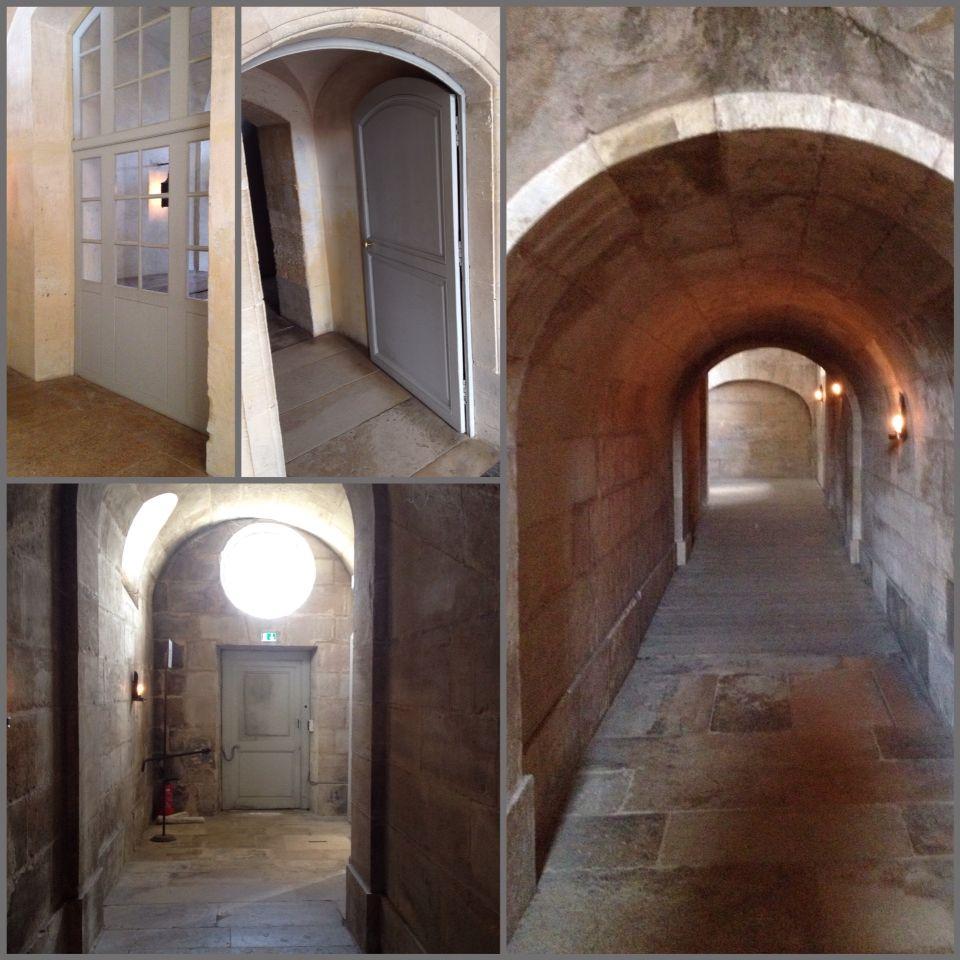 Passages, ground floor, Petit Trianon. Domaine de Marie Antoinette Photos by Bruce Bailey
