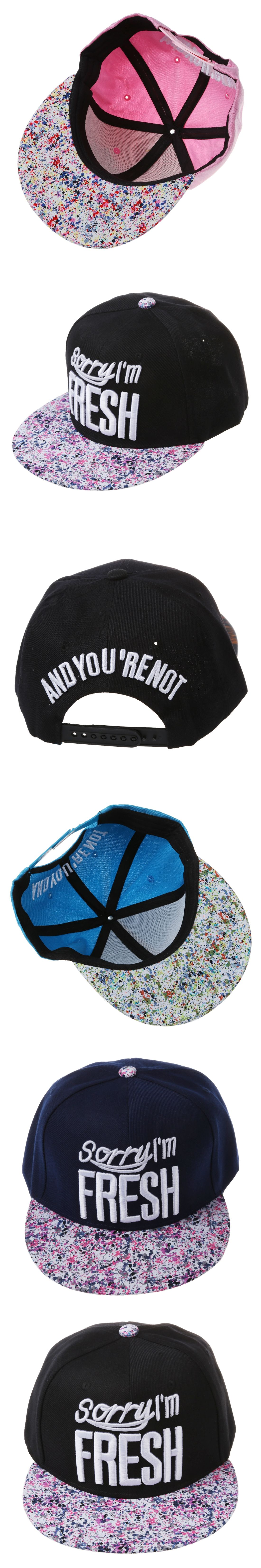 men women baseball hip hop cap adjustable fresh snapback trucker hat  leopard black blue pink leopard 71e125c66654