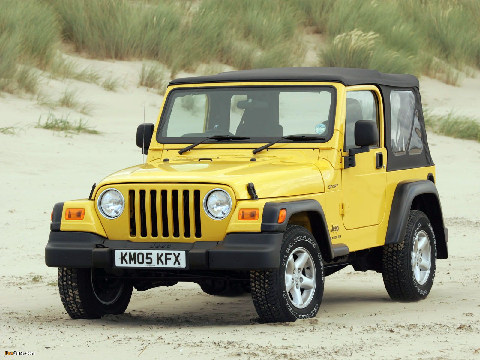 Jeep Wrangler Sport UKspec (TJ) 19972006 images (With