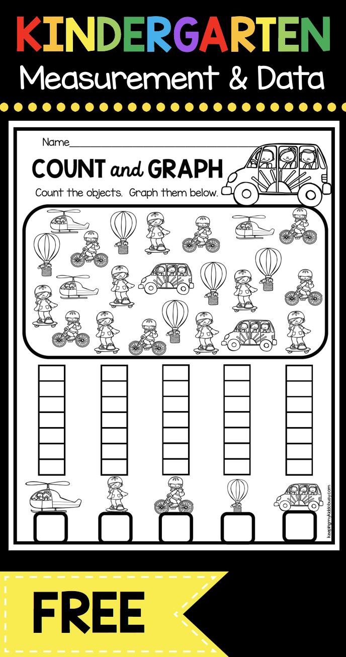 Measurement And Data Kindergarten Math Unit Freebies Keeping My Kiddo Busy Kindergarten Math Units Kindergarten Math Measurement Kindergarten [ 1306 x 688 Pixel ]