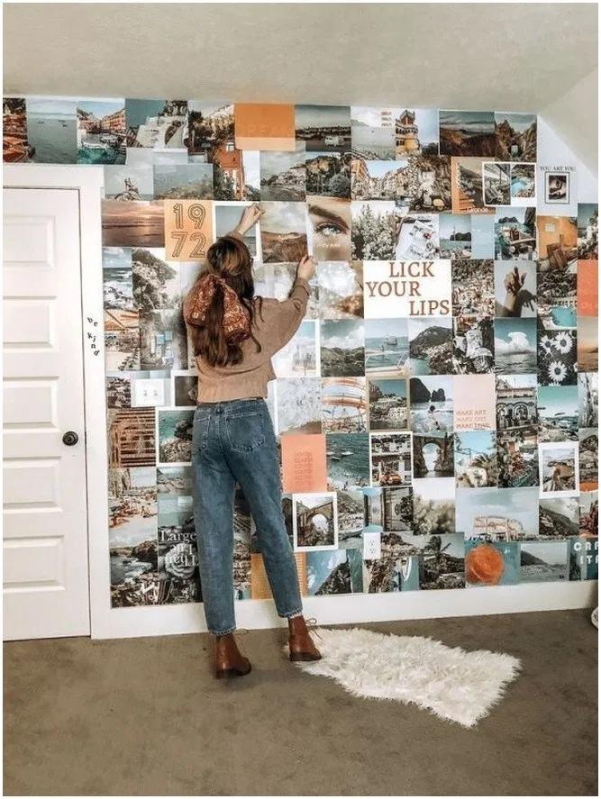 15 ideas para decorar tu cuarto aesthetic en 2020 ... on Room Decor Paredes Aesthetic id=64222