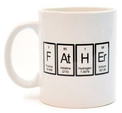 Father periodic table of elements coffee or tea mug evan father periodic table of elements coffee or tea mug urtaz Gallery