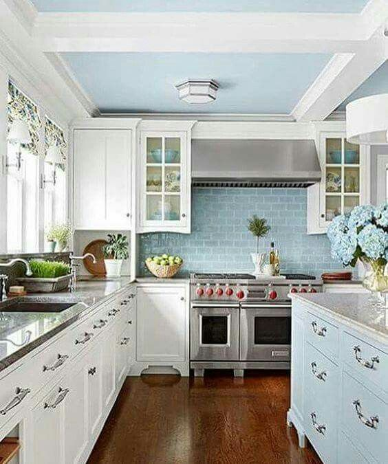 20 Charming Cottage Style Kitchen Decors: New Home Design Ideas In 2019