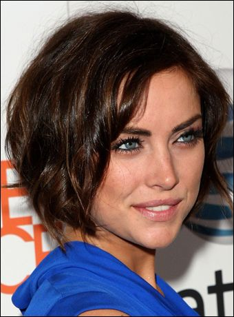 Jessica Stroup | Just me... | Pinterest | Bobs, Jessica stroup and ...