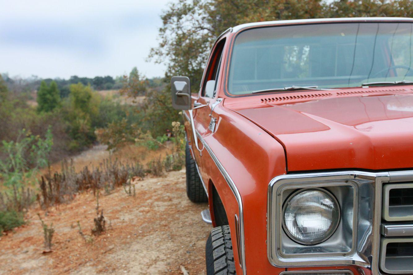 1976 GMC Sierra Classic 4x4 454 turbo 400