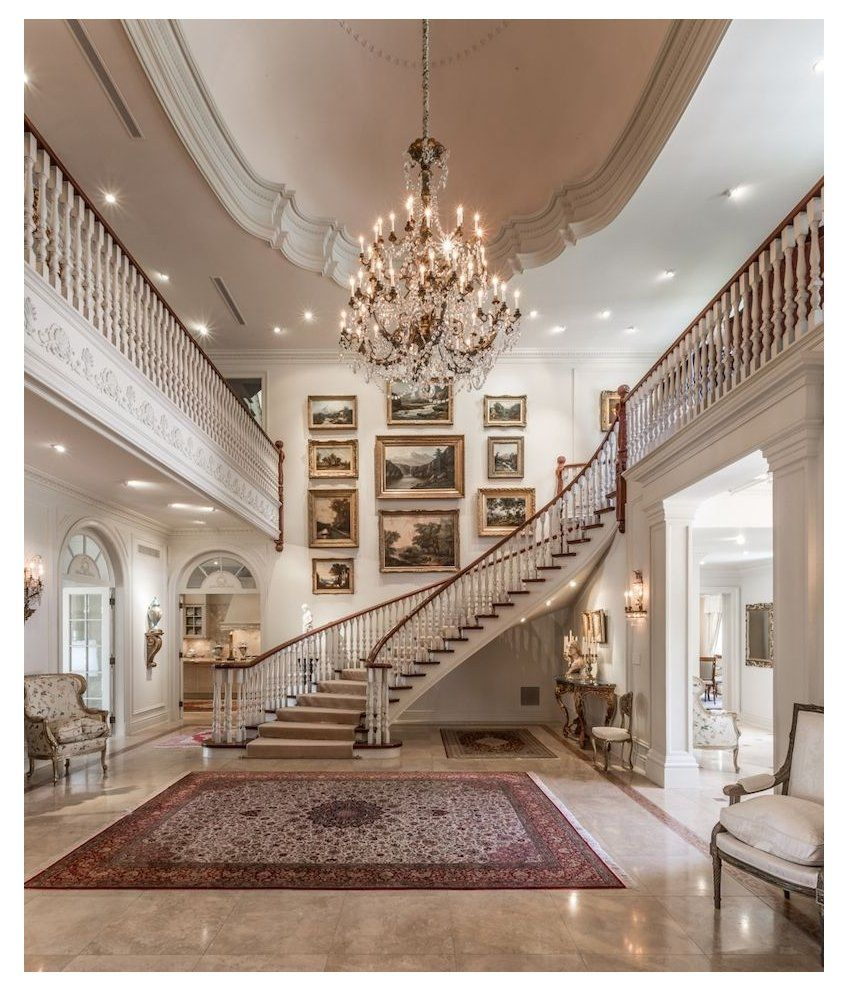 luxury homes interior french chateau