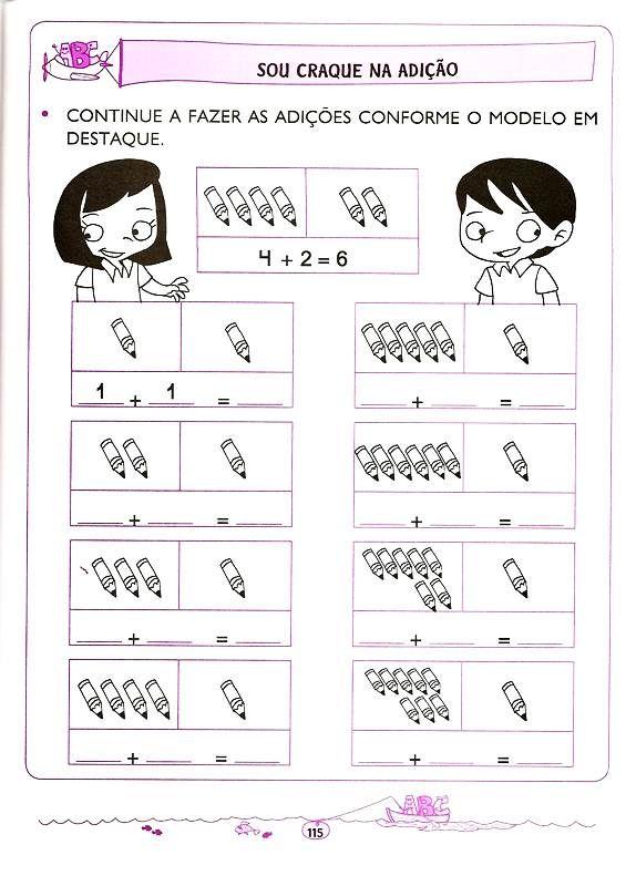 Matematica 5 E 6 Anos 107 Educacao Infantil Atividades