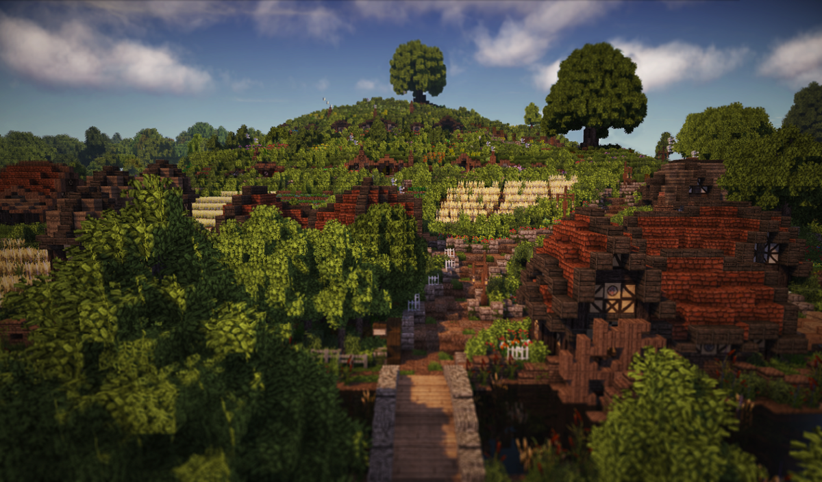 Fans recreate The Shire for all the hobbits of 'Minecraft'