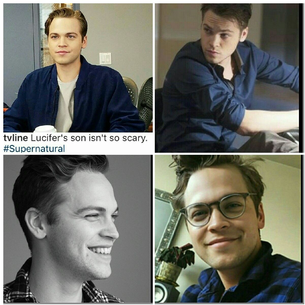 Jack x 4 | Alexander Calvert aka Jack the Nephilim on