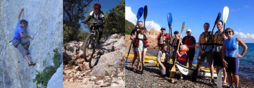 Sardinia's most beautiful outdoor spots with the most experienced tour guides on the island. Find the best rocks to climb and the best paths to hike and bike.