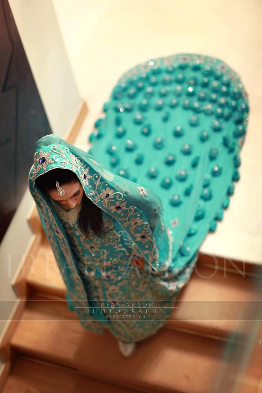 28 Blue & Green Pakistani Wedding Outfits {Irfan Ahson Photography ...