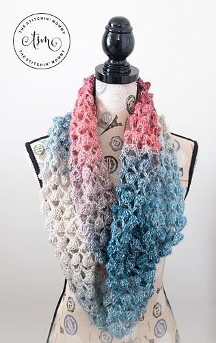 Ravelry: Moonlight Stroll Infinity Scarf pattern by Amy Ramnarine ...