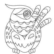 Bird printable - Coloring page - ANIMAL coloring pages - BIRD ...