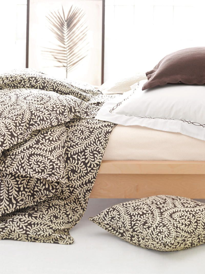 Scramble Chocolate Duvet Cover Pine Cone Hill Outlet
