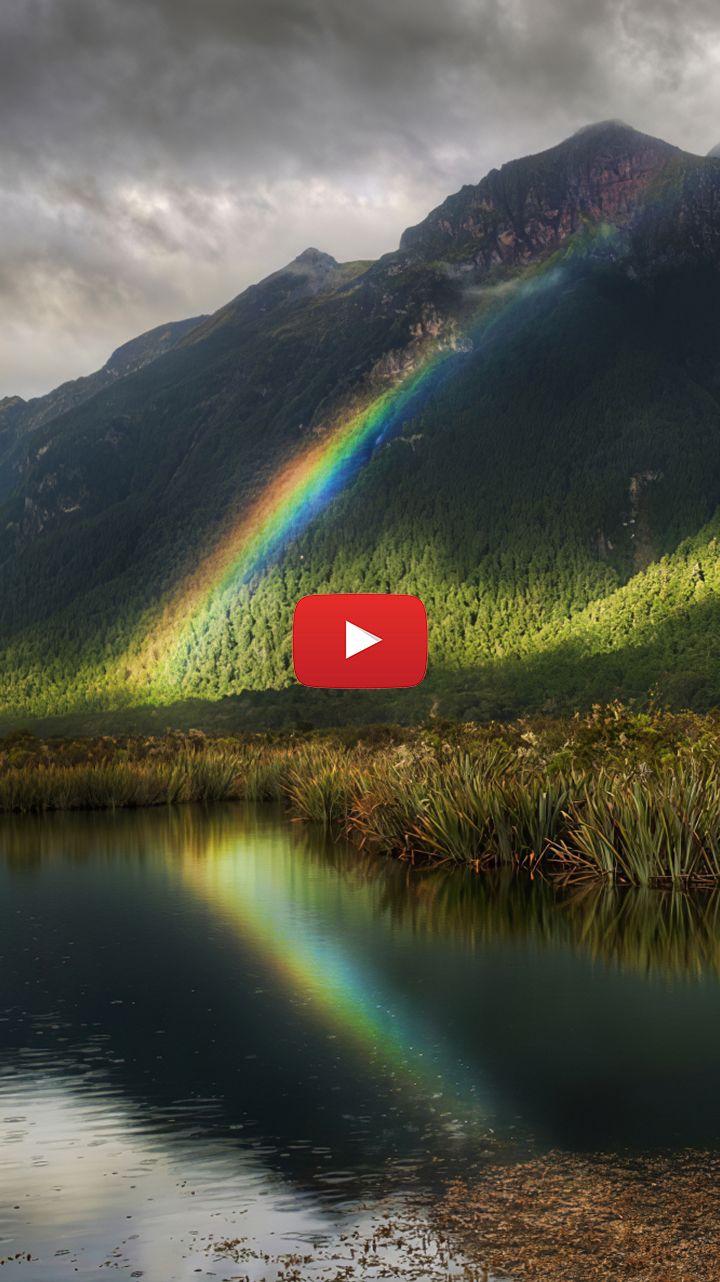 0002 Cool Rainbow Backgrounds Live Wallpaper Em 2020 Papeis De