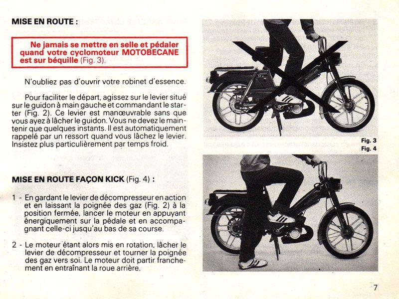 3 démonte-pneu pour vélomoteur cyclo mobylette vélos  Motobécane Peugeot Solex