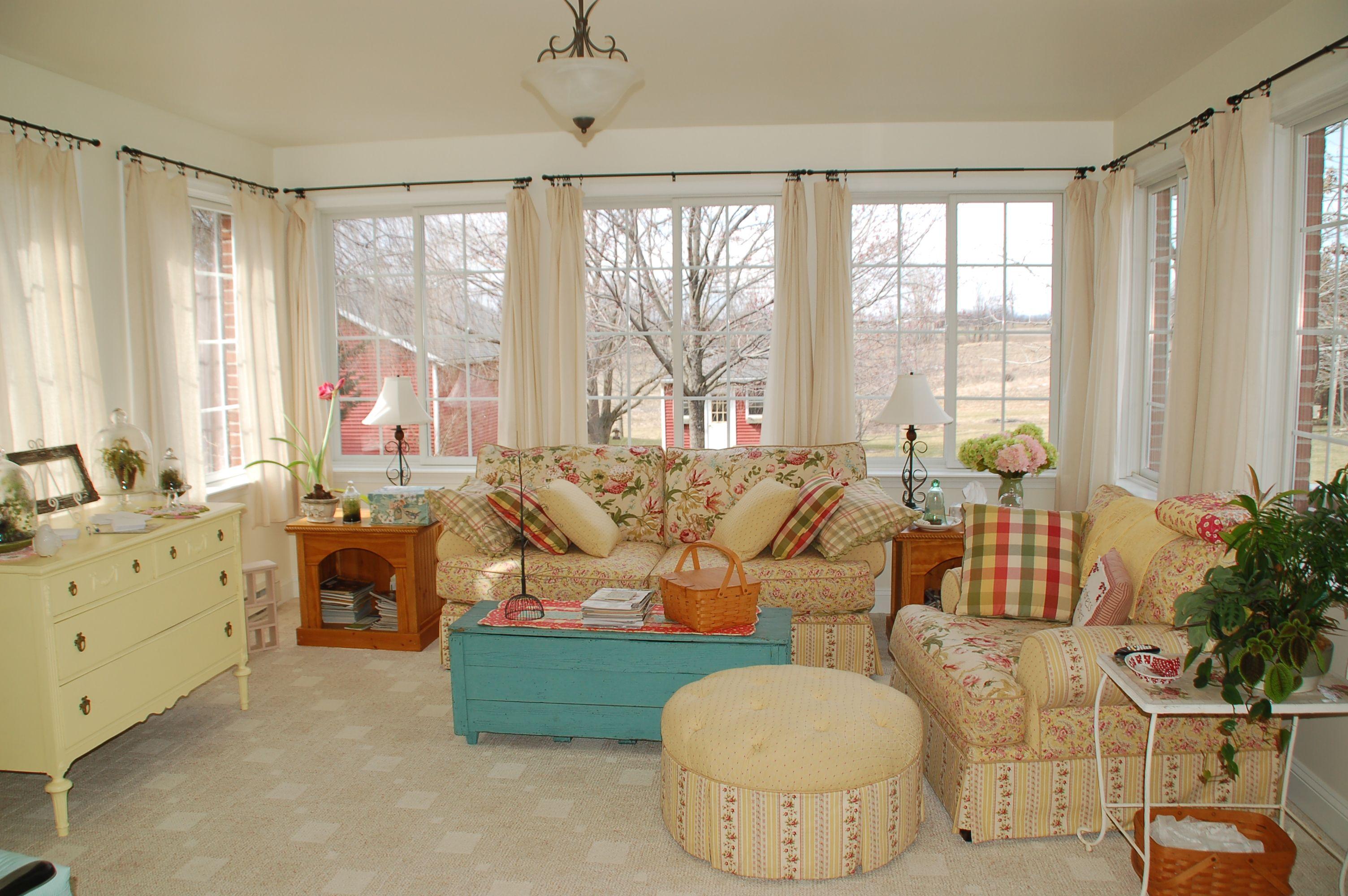 Window ideas for a sunroom  sunroom  cottage  pinterest  sunroom decor and beautiful