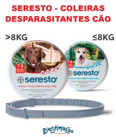 São coleiras inovadoras oferecem até 8 meses de proteção contra pulgas e carraças, sem necessidade de lembrar as aplicações mensais.