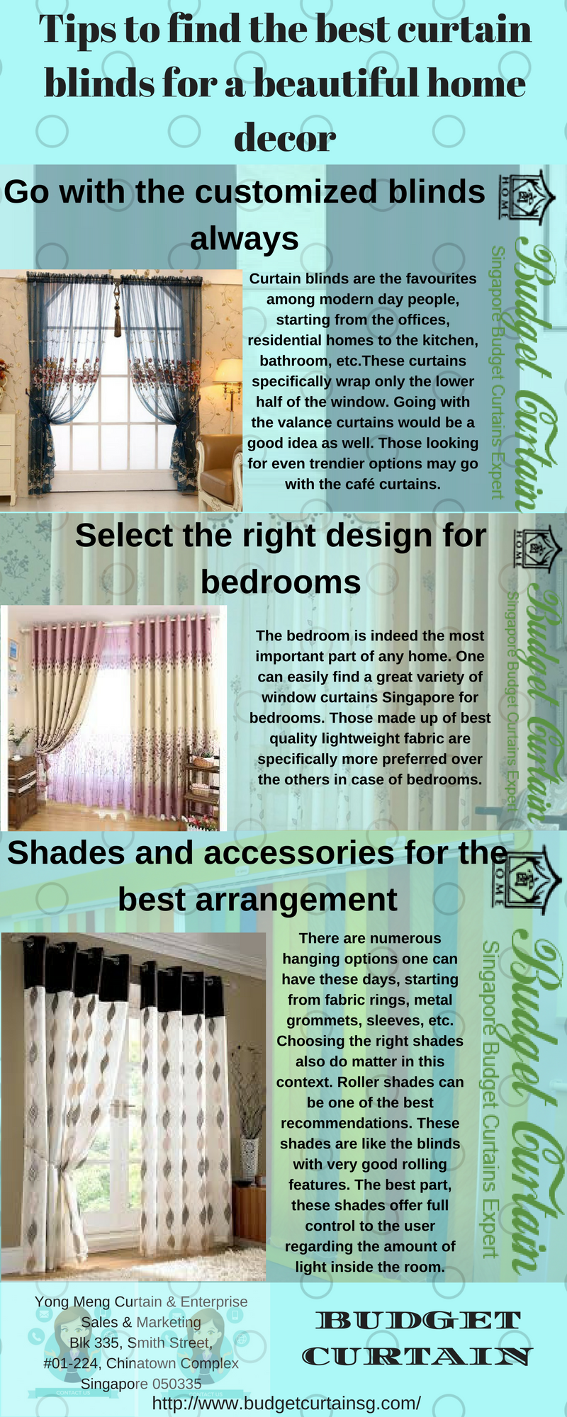 Get The Best Curtain Blinds For A Beautiful Home Decor At Prices In Singapore
