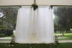 Ceremony curtain