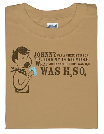 johnny was a chemist