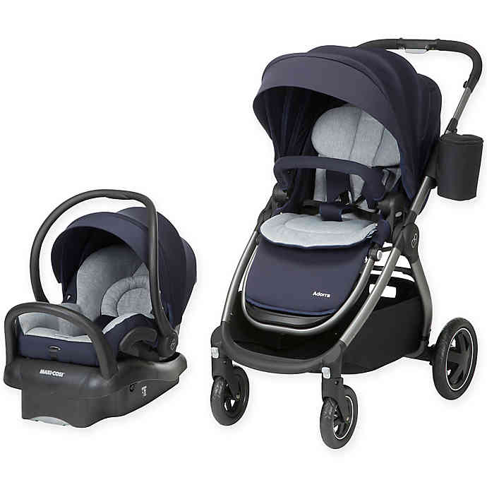 MaxiCosi® Adorra Travel System Charcoal Frame in