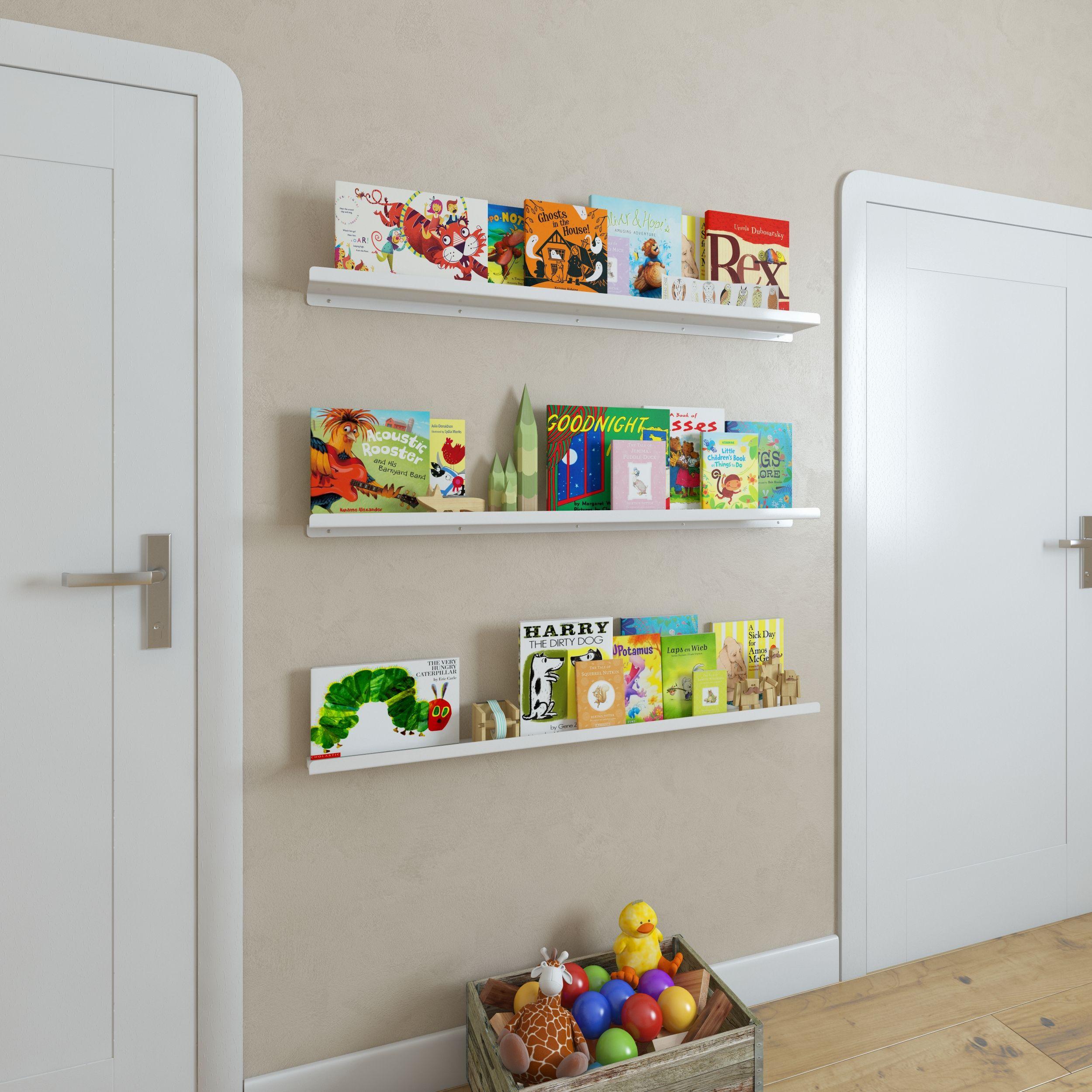 Monoqi 2 U Shelves White Wall Bookshelves Floating Bookshelves Home Library Design
