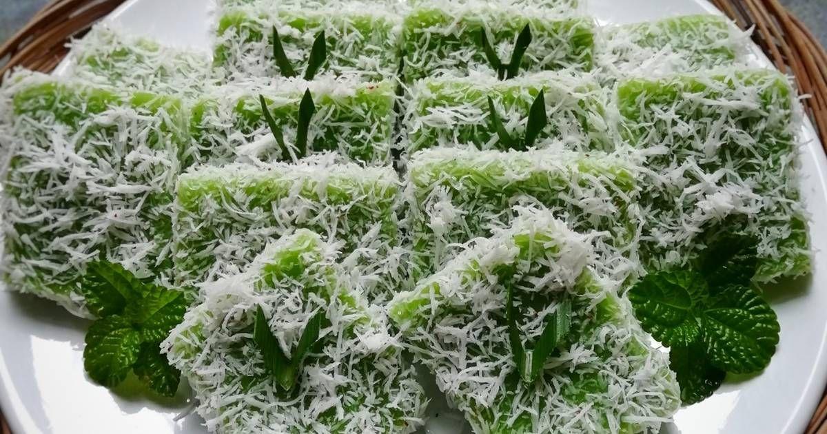 Resep Yet Yet Pandan Oleh Dhiah Oddie Recipe Pandan Vegetables Kfc