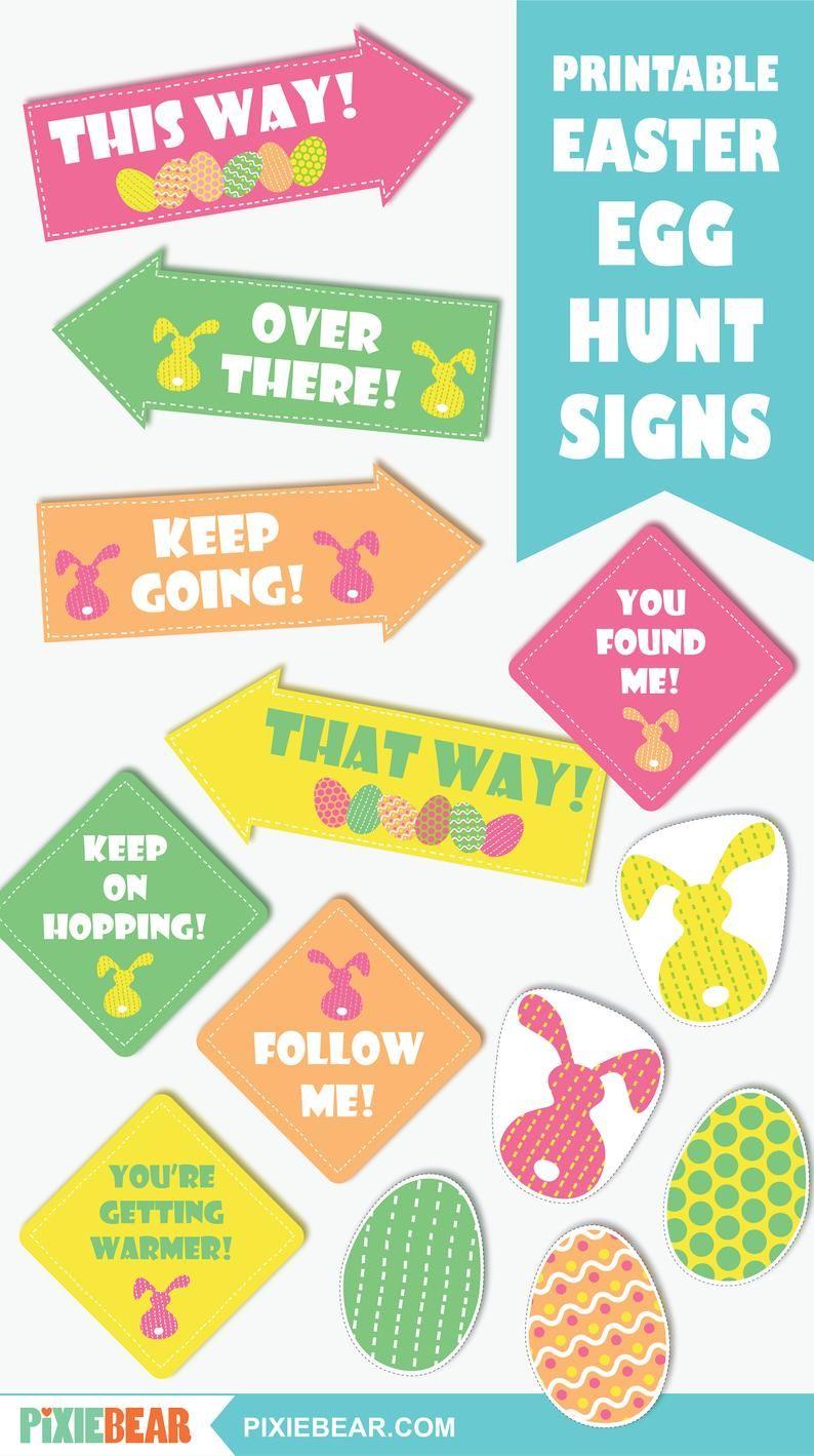 Easter Egg Hunt Signs Printable Easter Party Signs And Decorations Editable Easter Egg Hunt Sign Templates For Kids Instant Download Egg Hunt Sign Easter Egg Hunt Happy Easter Sign