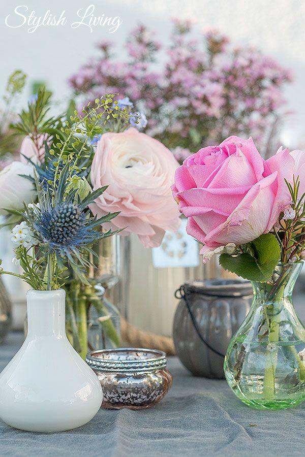 Frhlingshafte Tischdeko und dazu Blanchet Sponsored Post  Tischdeko  Table decoration