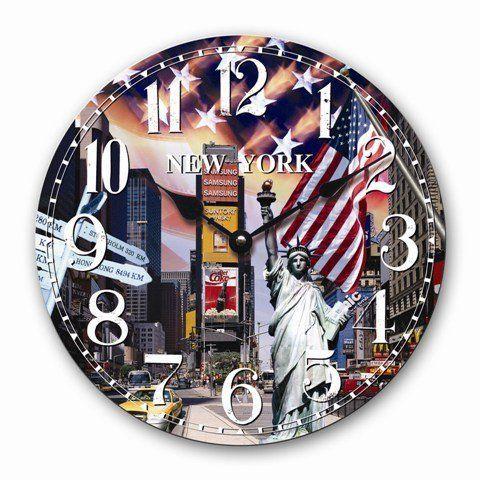 WANDUHR MODERN NEW YORK DESIGN BIG APPLE KÜCHENUHR QUARZUHR UHR 30