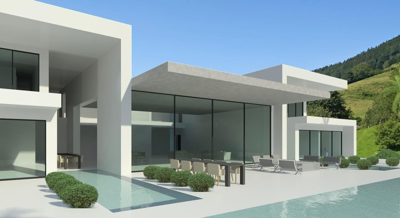Image gallery modern villa cannes for Ultra modern house plans for sale