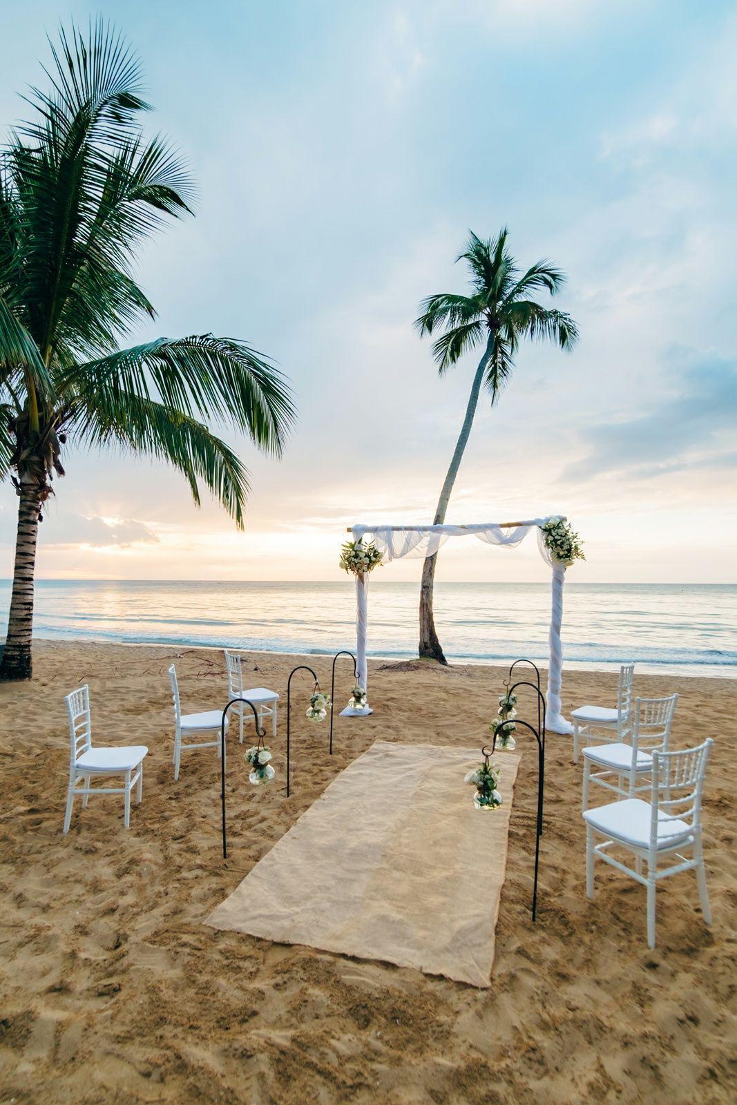 Plan Your Tropical Destination Wedding In Paradise At Sublime Samana Las Terrenas Dominican Rep Diy Beach Wedding Beach Wedding Planning Small Beach Weddings