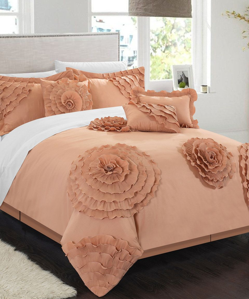 Another Great Find On Zulily Peach Dartford Comforter