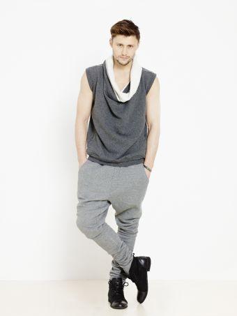 Spodnie Dresowe Meskie Agi Jensen Spodnie Dresowe Meskie Dlugie Spodnie Z Obnizonym Krokiem Cieple Spodnie Fashion Normcore Style
